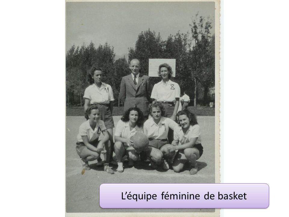 Léquipe féminine de basket