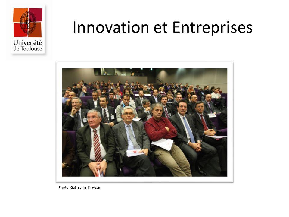 Innovation et Entreprises Photo: Guillaume Fraysse