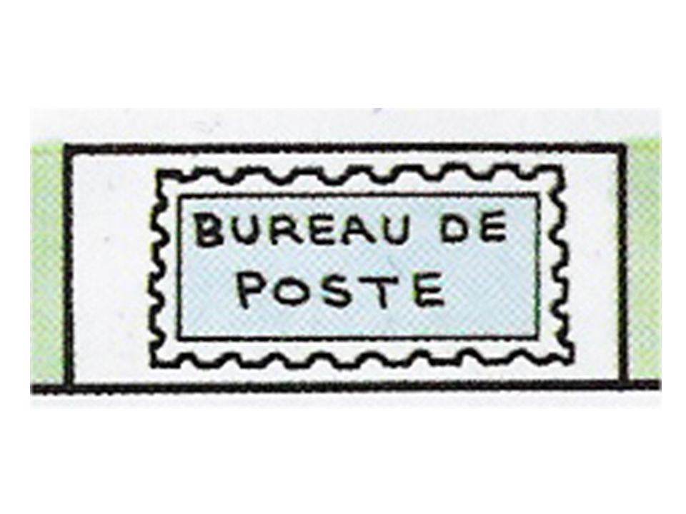 des timbres-poste?