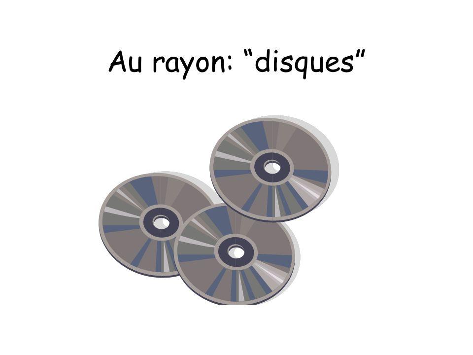 Au rayon: disques