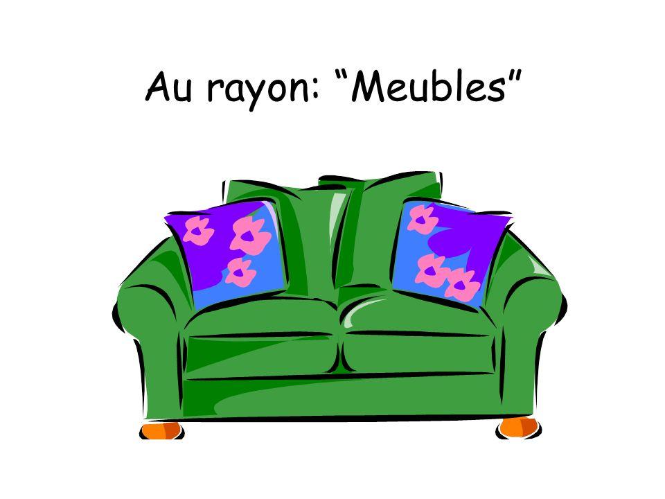 Au rayon: Meubles