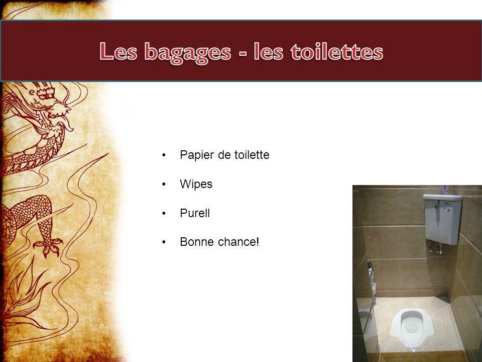 Papier de toilette Wipes Purell Bonne chance!