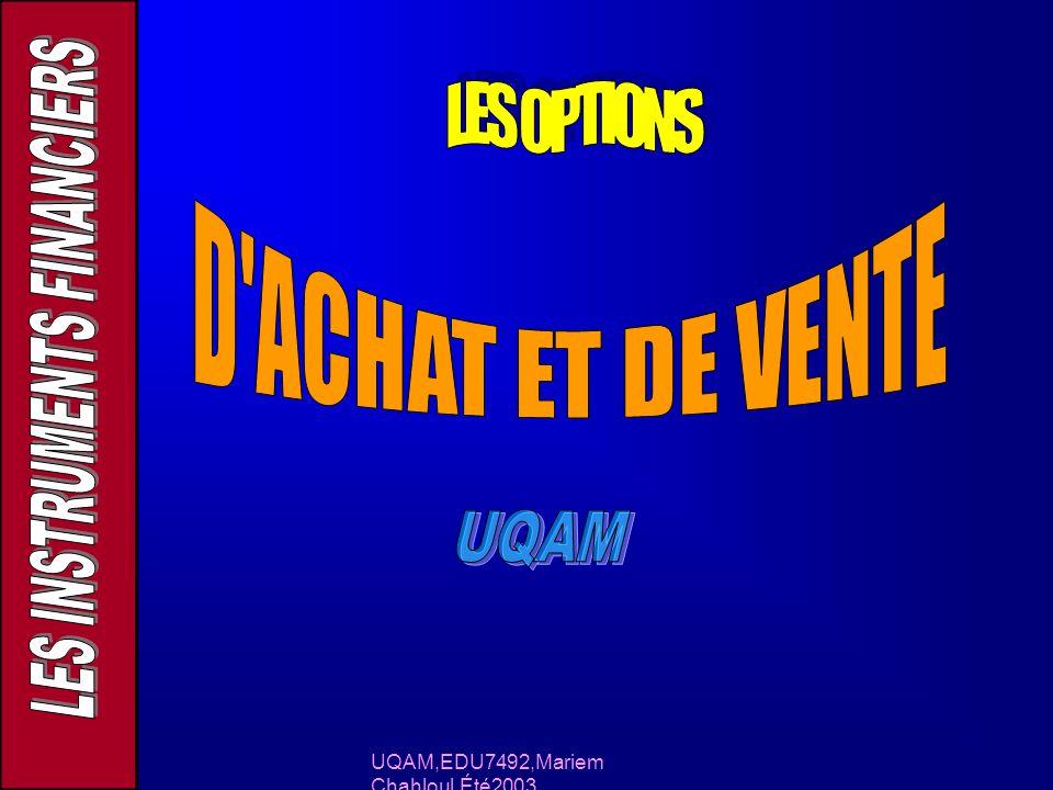UQAM,EDU7492,Mariem Chahloul,Été2003