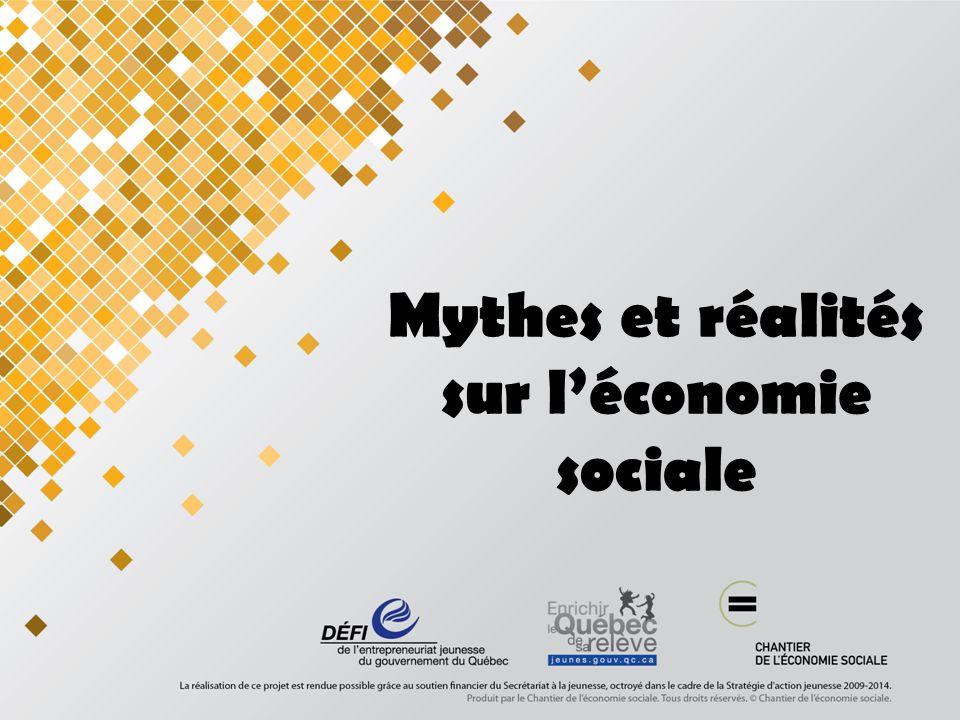 Mythes et réalités sur léconomie sociale