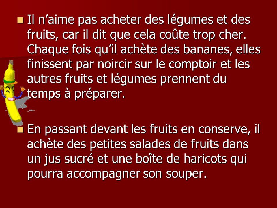 5-10 portions de légumes par jour 60 ml de fruits séchés (grosseur dune balle de golf) 60 ml de fruits séchés (grosseur dune balle de golf) Ex.