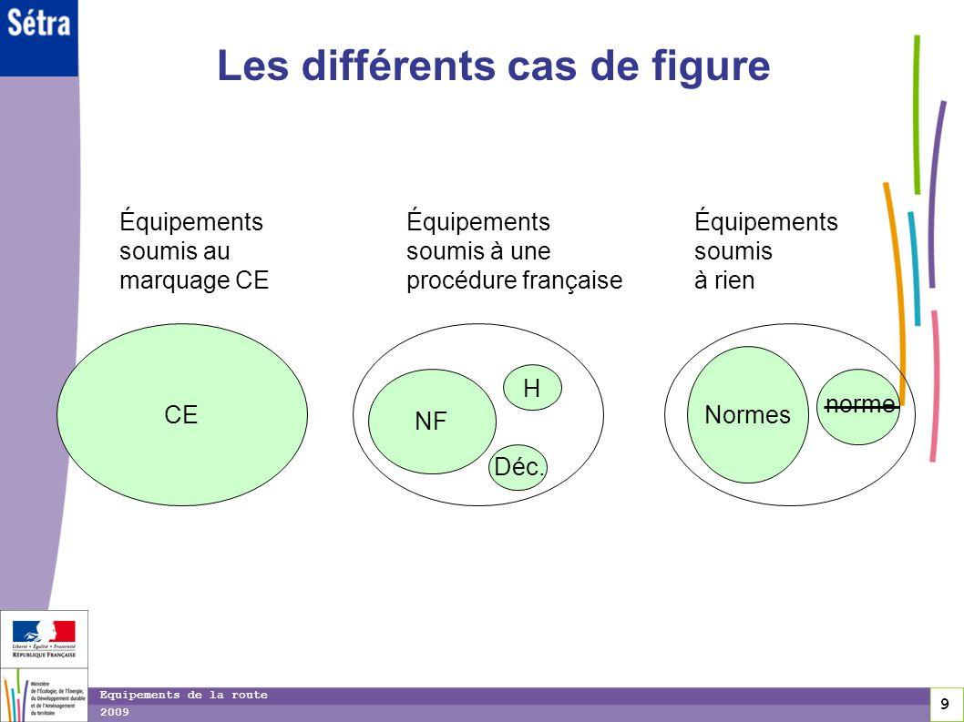 10 10 Equipements de la route 2009 Référentiels CE Caract.