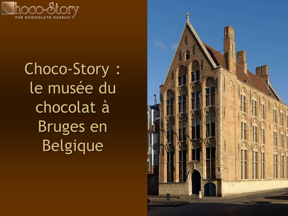 47 Choco-Story : le musée du chocolat à Bruges en Belgique