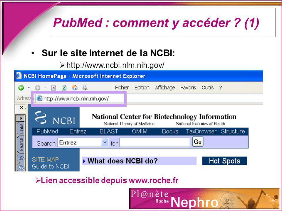 PubMed : comment ça marche .
