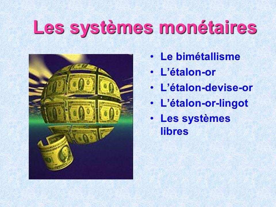 La masse monétaire et ses agrégats l La masse monétaire est : Définition l lensemble des liquidités...