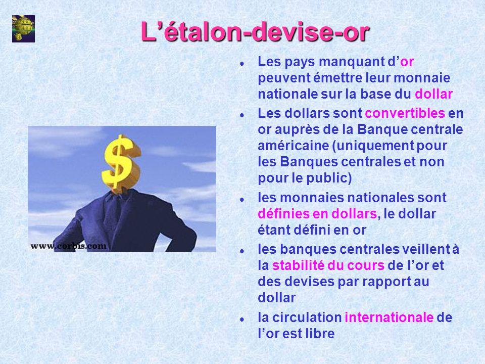 Le système monétaire suisse : base légale (II) Art.