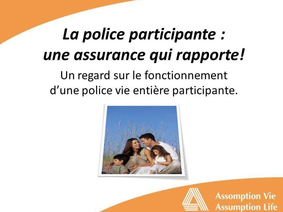 La police participante : une assurance qui rapporte.