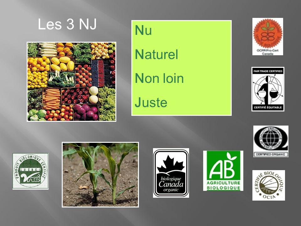 Nu Naturel Non loin Juste Les 3 NJ