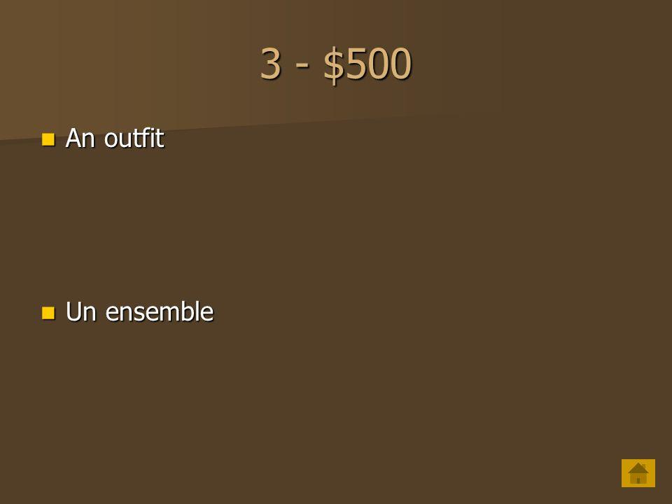 3 - $400 earrings earrings Des boucles doreilles Des boucles doreilles