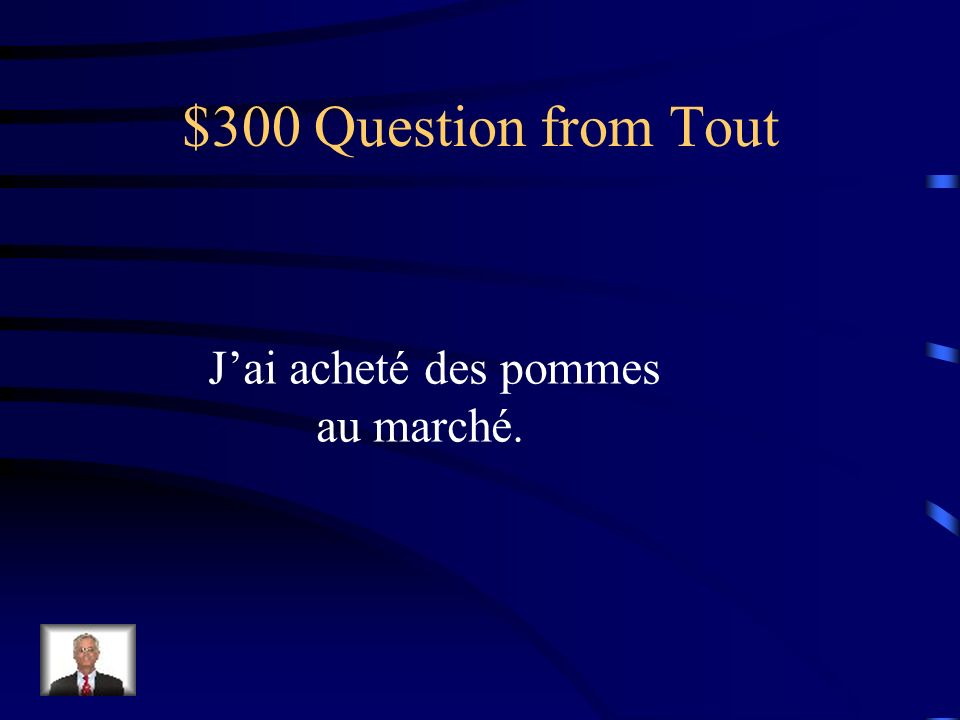 $200 Answer from Tout Achètes-y-en!