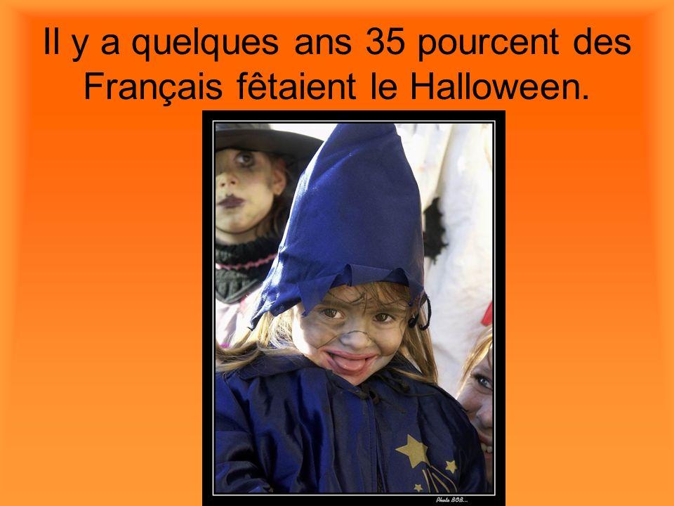 Pour le Halloween les enfants se déguisent.