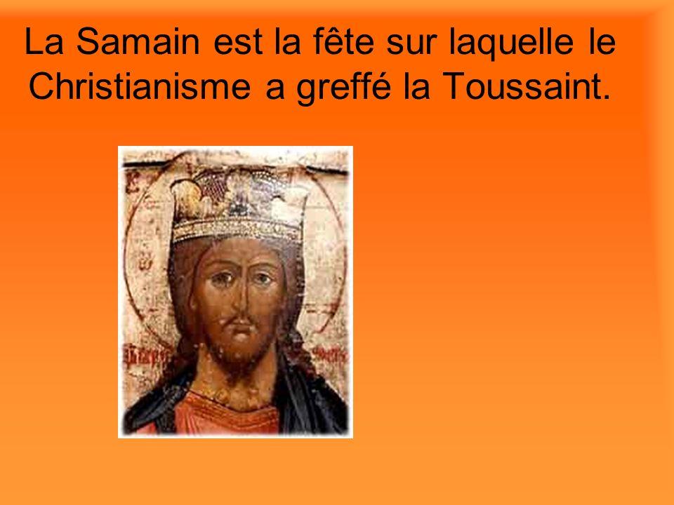 La Toussaint (All Saints Day) est le premier novembre.