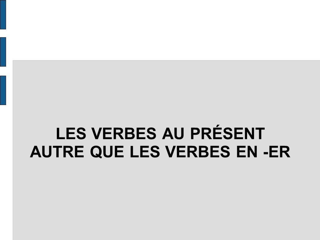 INTRODUCTION En français on clase les verbes en trois groupes.
