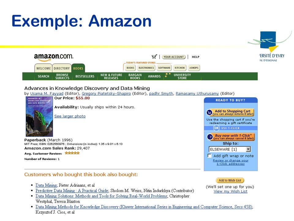 Exemple: Amazon