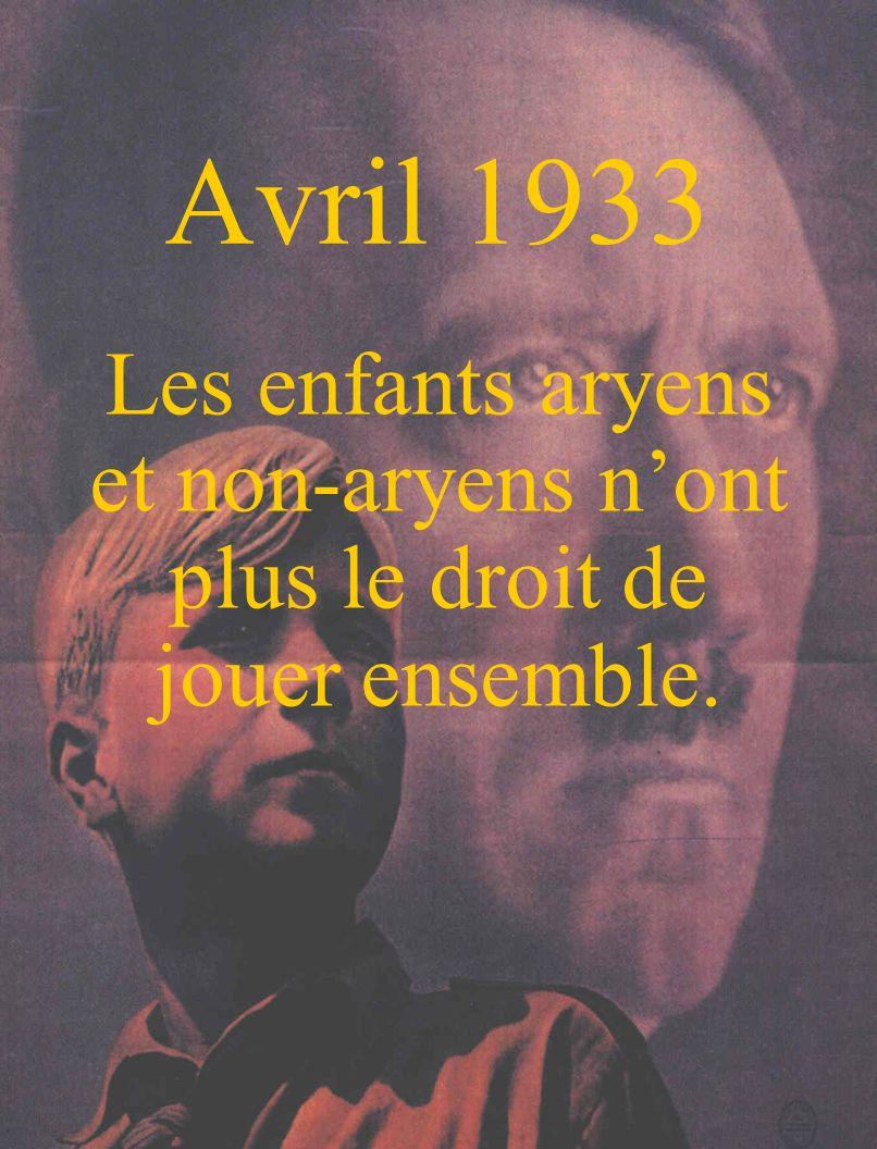 12 novembre 1938 Les Juifs nont plus le droit daller au cinéma, au théâtre, à lopéra ou au concert.