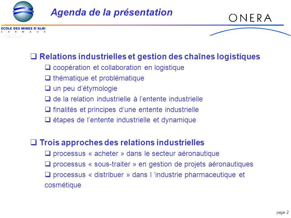 page 23 Quelle est linfluence des paramètres des plans d approvisionnements sur la performance des fournisseurs.