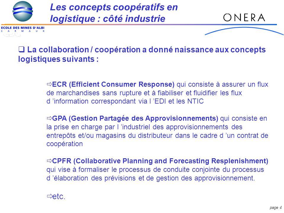 page 35 -INTERFACE- Flux dinfo : Logistique Marketing Stratégique Financier Commercial etc.
