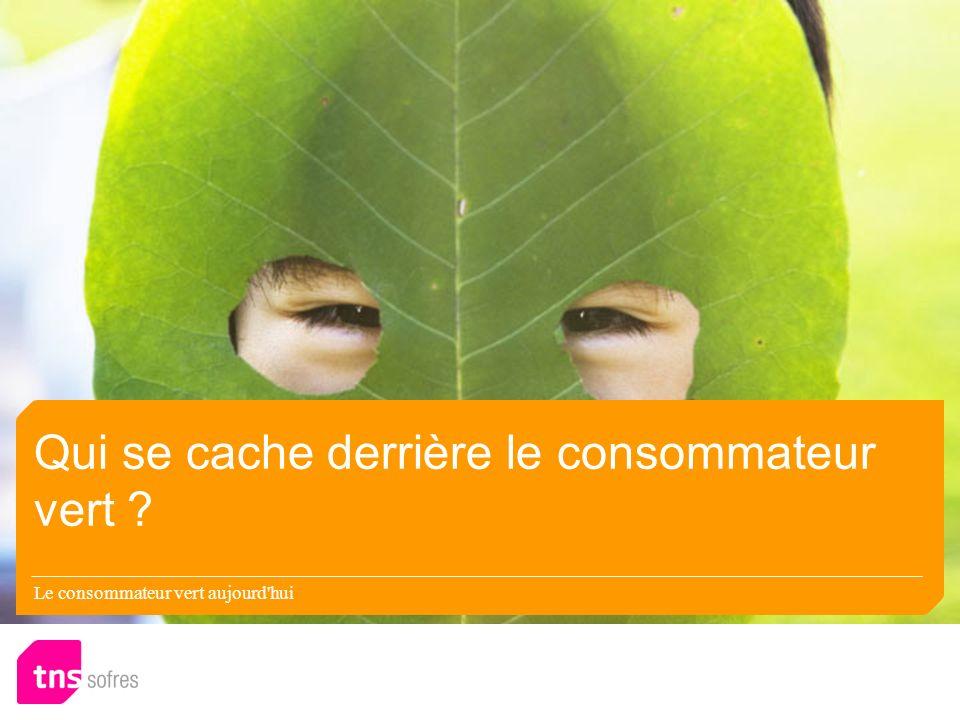 Qui se cache derrière le consommateur vert Le consommateur vert aujourd hui
