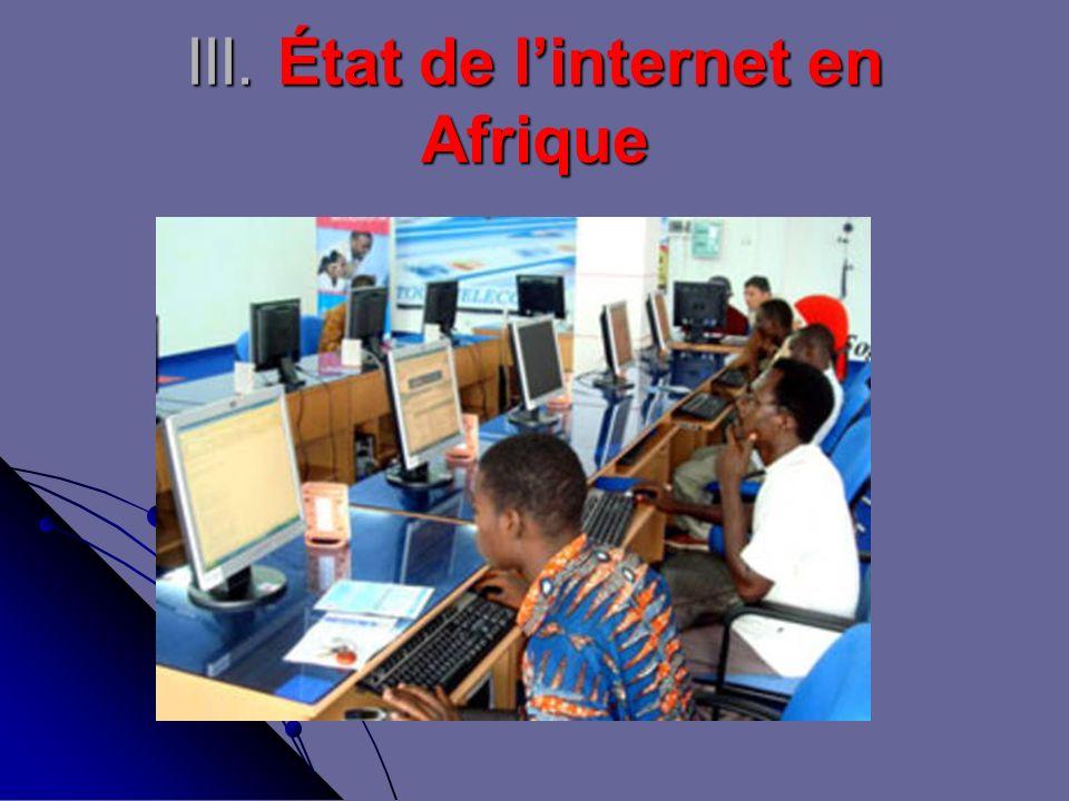 III. État de linternet en Afrique
