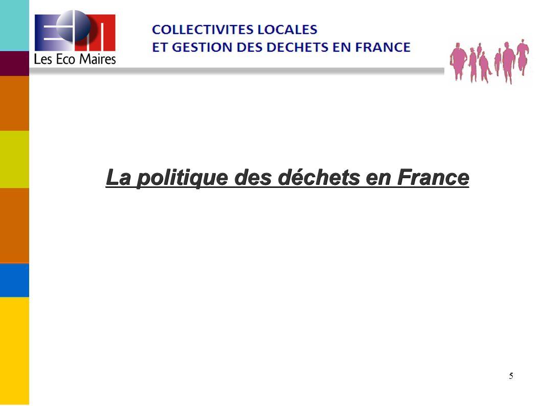 6 Cadre législatif français