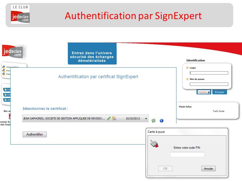 56 Authentification par SignExpert