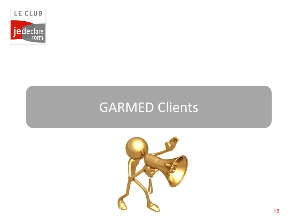 78 GARMED Clients