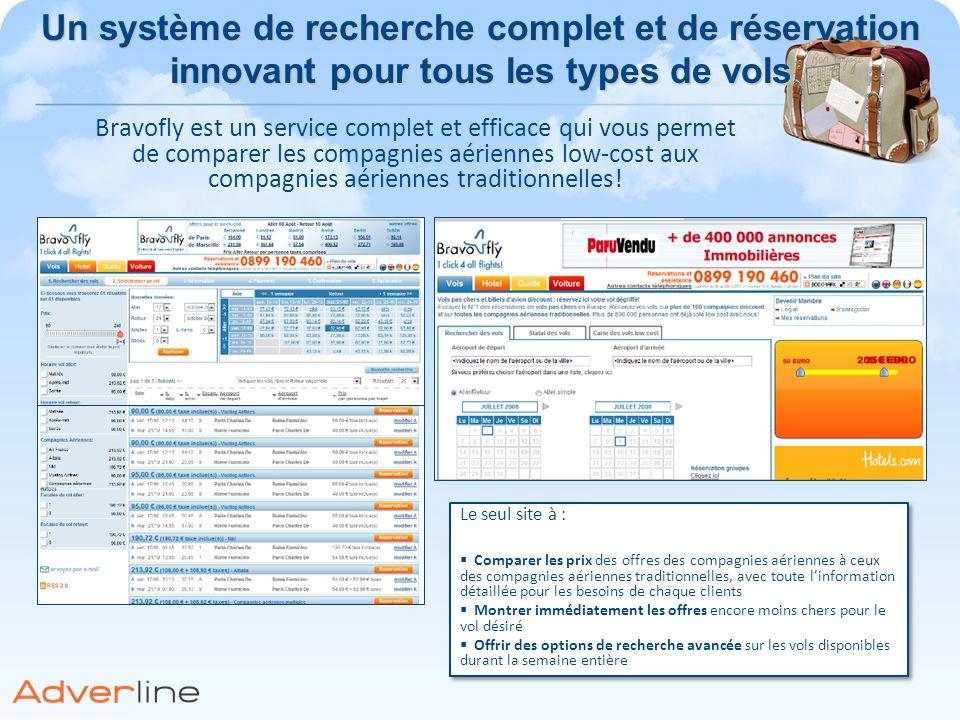 Le seul site à : Comparer les prix des offres des compagnies aériennes à ceux des compagnies aériennes traditionnelles, avec toute linformation détail
