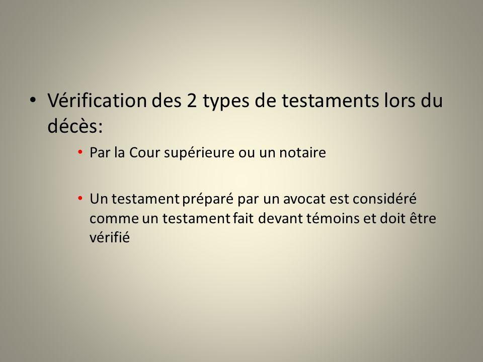Exemple: René décède sans avoir fait de testament Il est marié à Pauline et na pas denfant.
