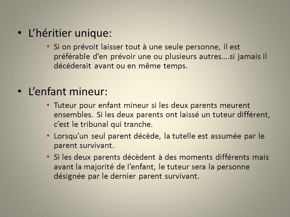 Les groupes dhéritiers: « mes enfants », « mes neveux et mes nièces » : expressions qui peut entraîner une contestation juridique.