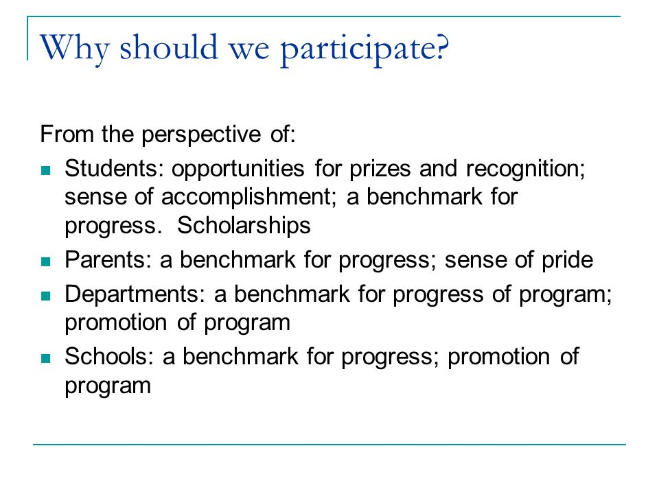 Who can participate.All French students are eligible to participate in the Grand Concours.