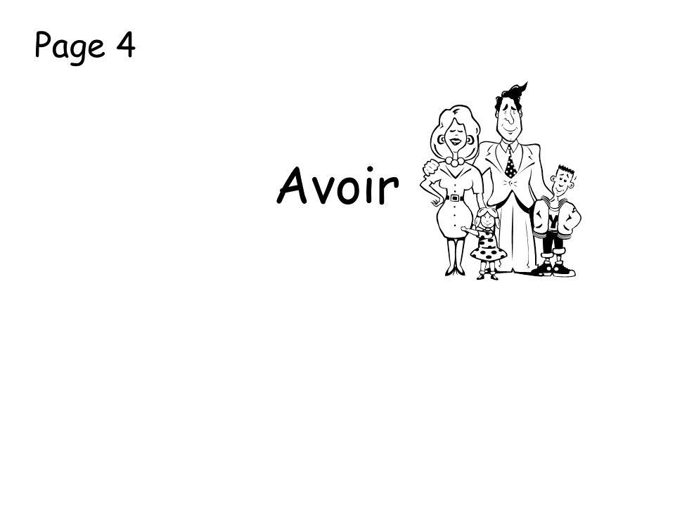 Page 4 Avoir