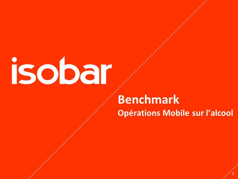 1 Benchmark Opérations Mobile sur lalcool