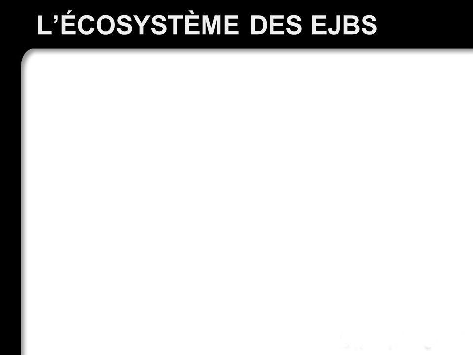 LÉCOSYSTÈME DES EJBS 26