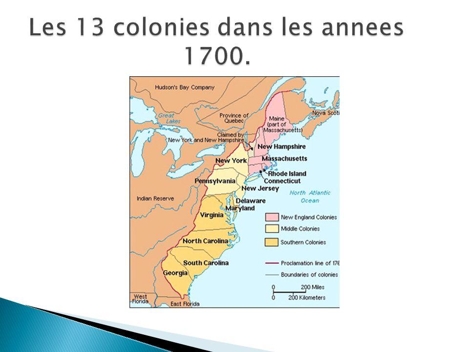 Apres lincident du Boston tea party, le Parlement a passe les lois appeles COERCIVE Acts: La Grande Bretagne voulait forcer, obliger les colons a obeir.