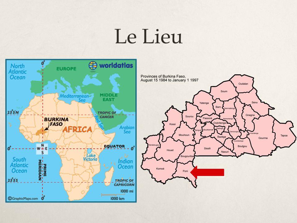 Voyage au Burkina – Août 2013 (1) Objectifs : 1.