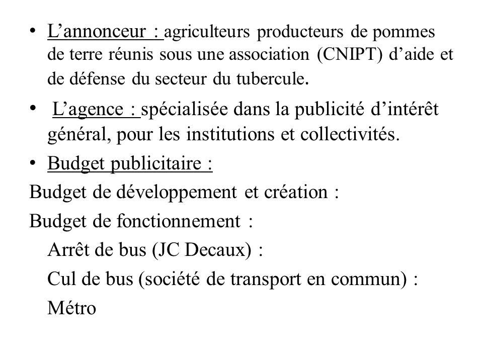 Lannonceur : agriculteurs producteurs de pommes de terre réunis sous une association (CNIPT) daide et de défense du secteur du tubercule. Lagence : sp