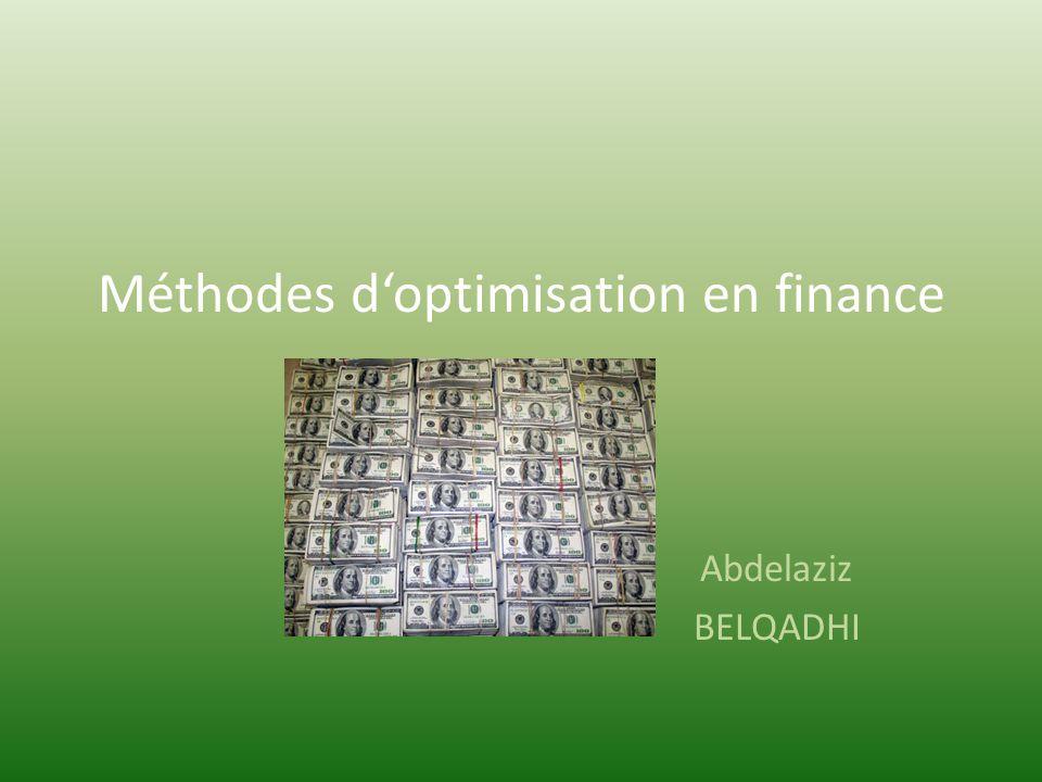 Option pricing Une call option européenne donne le droit dacheter une action (quon appelle le sous- jacent), à une date précise (maturité T) pour un prix déterminé à lavance (strike price c).