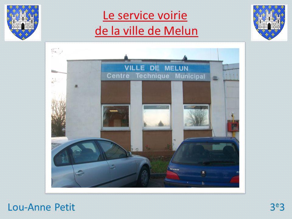 Lou-Anne Petit3e33e3 Le service voirie de la ville de Melun