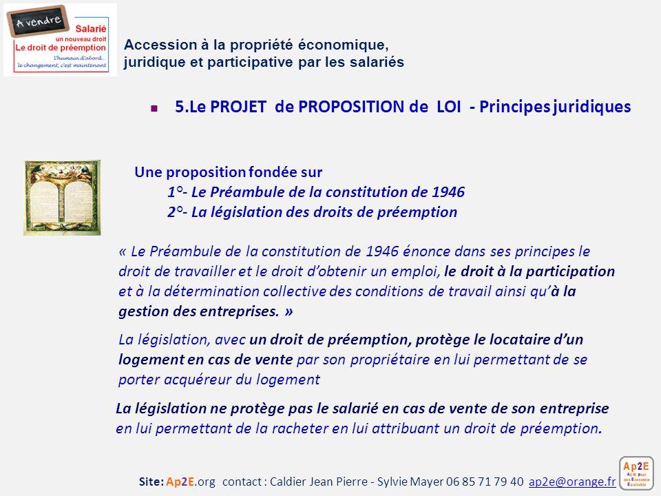 Site: Ap2E.org contact : Caldier Jean Pierre - Sylvie Mayer 06 85 71 79 40 ap2e@orange.frap2e@orange.fr La législation ne protège pas le salarié en ca