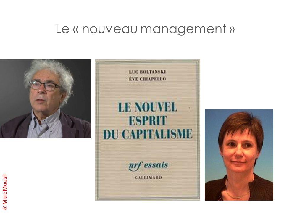 ® Marc Mousli Le « nouveau management »