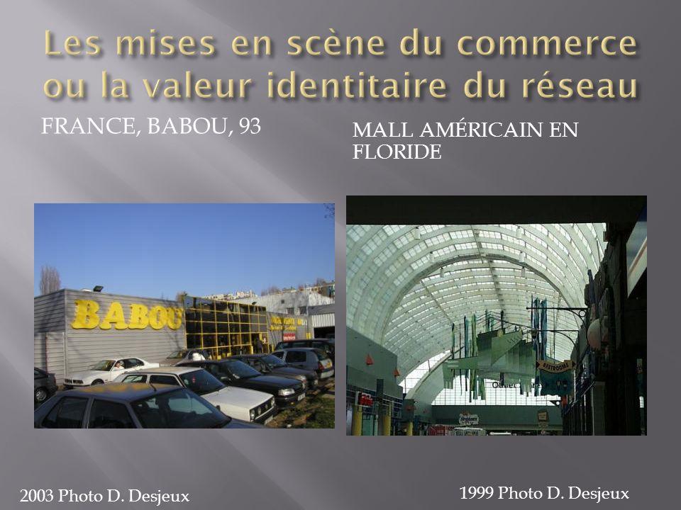 FRANCE, BABOU, 93 MALL AMÉRICAIN EN FLORIDE 2003 Photo D. Desjeux 1999 Photo D. Desjeux
