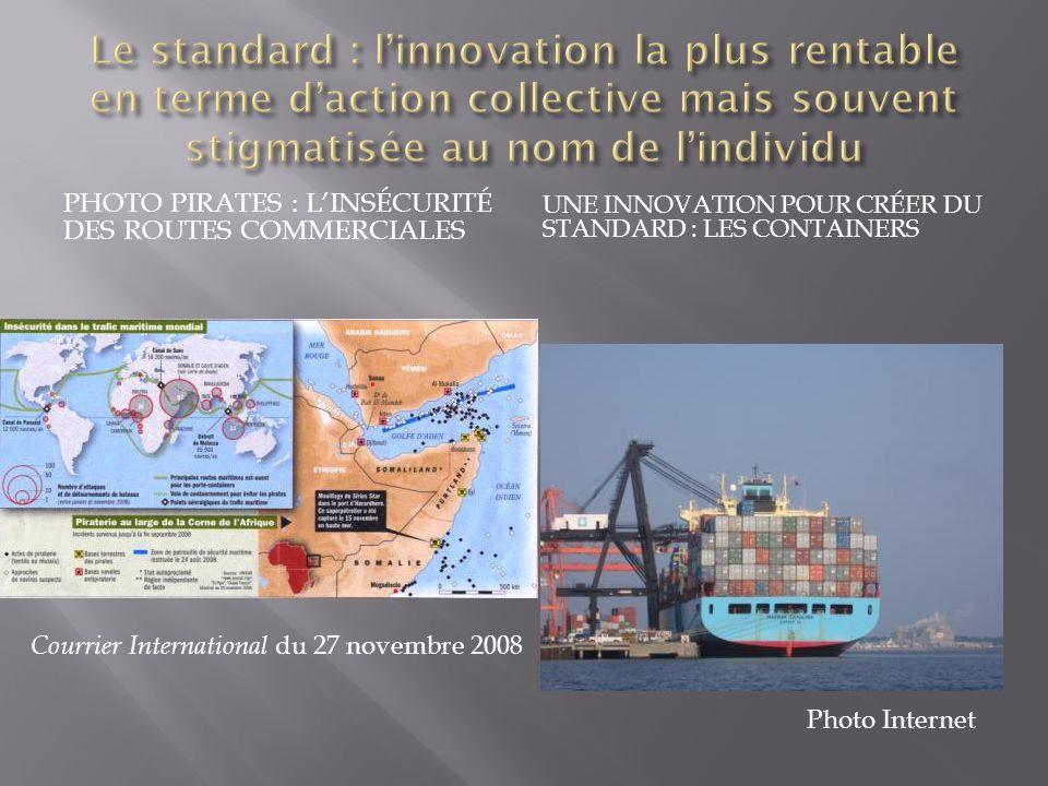 Classiquement on distingue dans les entreprises Les innovations incrémentale ou à la marge Les innovations de rupture comme les centrales dachat, le e-commerce, les containers, etc.