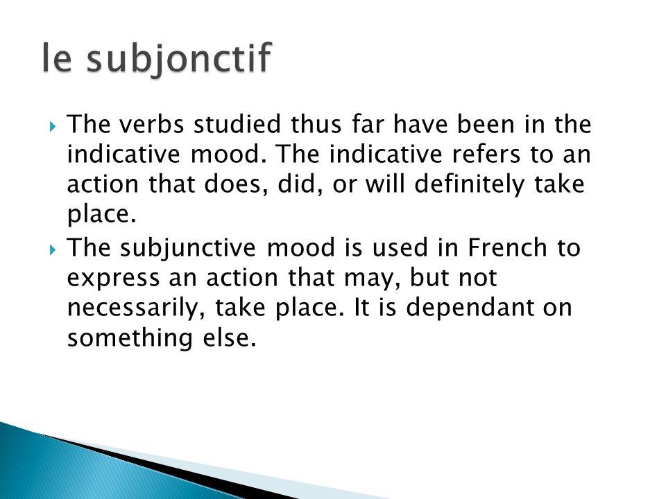Compare the following sentences: 1.Robert fait tous ses devoirs.