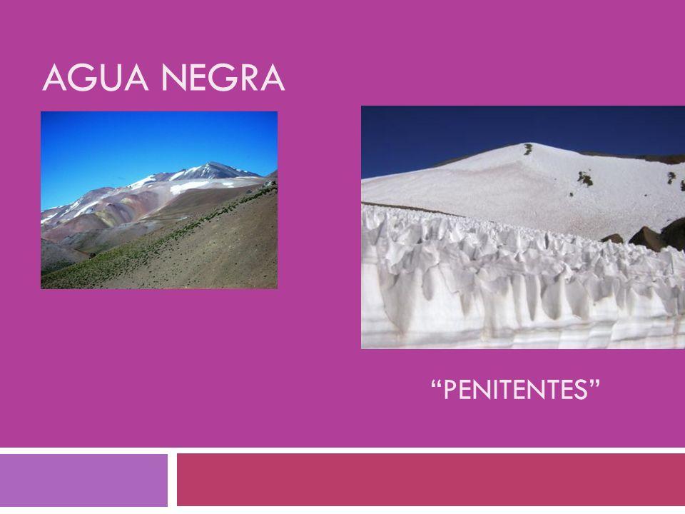 PENITENTES AGUA NEGRA
