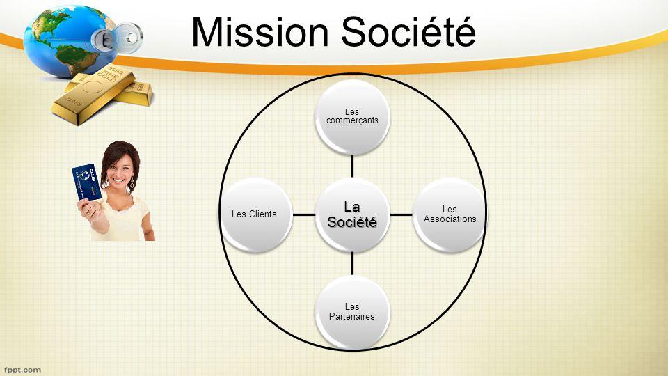 Mission Société La Société Les commerçants Les Associations Les Partenaires Les Clients