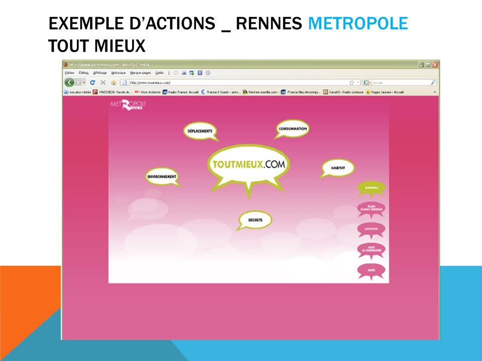 EXEMPLE DACTIONS _ RENNES METROPOLE TOUT MIEUX